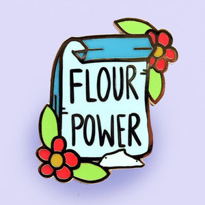 Jubly Umph - Flour Power Lapel Pin
