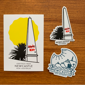 "The ""Newy homesick pack"" - add it on to your other NEWY purchases!"