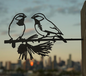 Metalbird - PAIR OF FINCHES