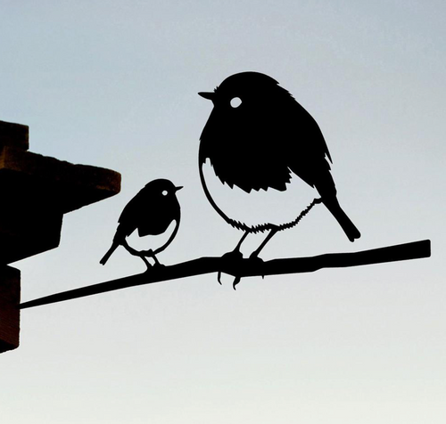 Metalbird - ROBIN AND CHICK