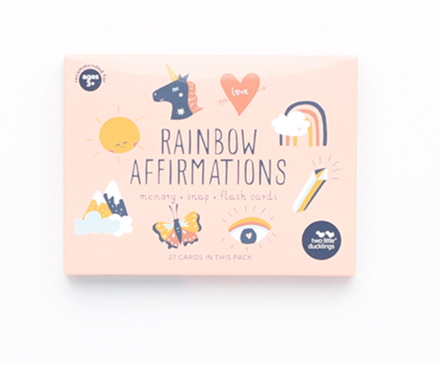Two Little Ducklings - Rainbow Affirmations Snap and Memory Game