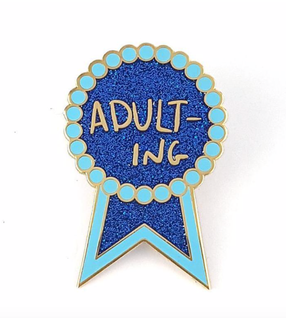 Jubly Umph - ADULTING LAPEL PIN