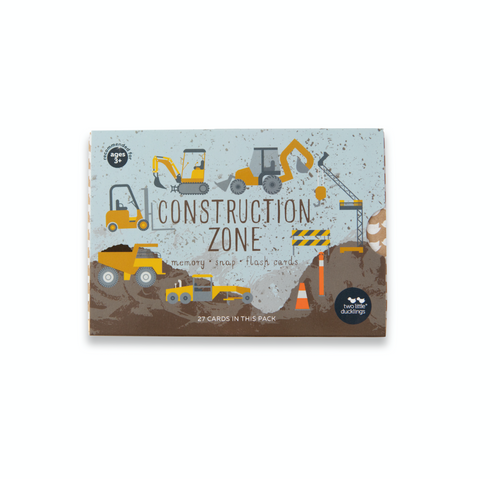 Two Little Ducklings - Construction Zone Memory Cards