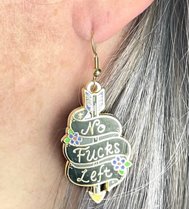 Jubly Umph -  No Fucks Left Earrings