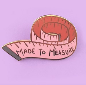 Jubly Umph - MADE TO MEASURE LAPEL PIN