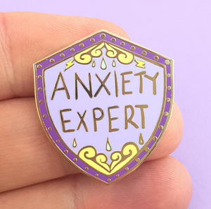 Jubly Umph - ANXIETY EXPERT LAPEL PIN