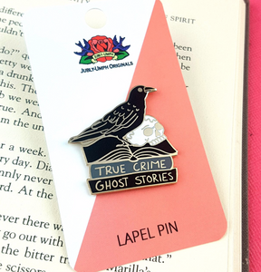 Jubly Umph - THE BLACK RAVEN READER LAPEL PIN