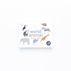 Two Little Ducklings - world animals Flash Cards