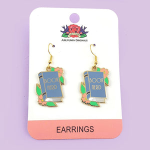 Jubly Umph - Book Nerd Earrings