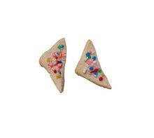 Saturday Lollipop - food earrings - Fairy bread!