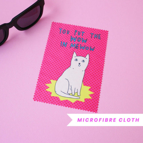 Able & Game - Microfibre Cloth/Glasses Cleaning Cloths - choose from 5 designs!