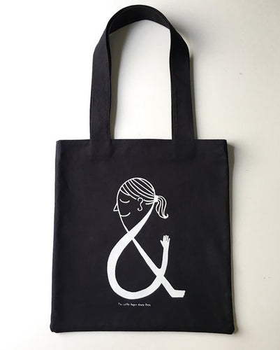 The Little Paper House Press - Ampersand tote
