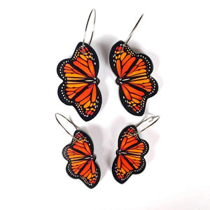 Smyle Designs - Monarch Butterfly Earrings CHOOSE YOUR SIZE