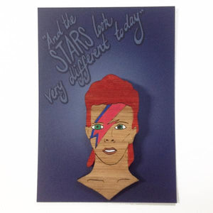 Milk Thieves - David Bowie Brooch