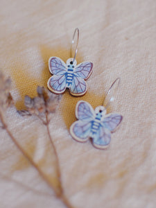 PIxie Nut & Co - Butterfly Hoop earrings
