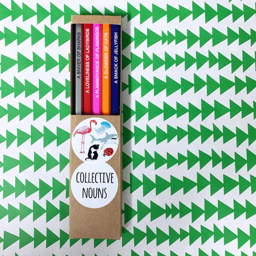 Emma Makes - Collective Nouns pencil pack