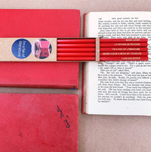 Emma Makes - Book lover's pencil pack
