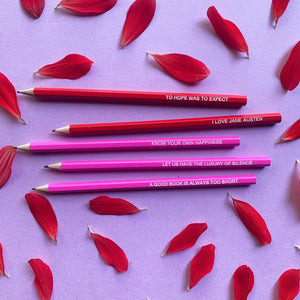 Emma Makes - Jane Austen pencil pack