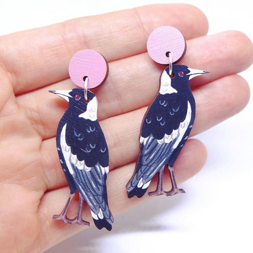 Pixie Nut & Co - Magpie Earrings