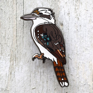 Bridget Farmer - Lapel Pin - Kookaburra