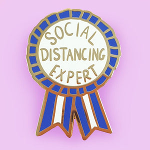 Jubly Umph - Social Distancing Expert LAPEL PIN