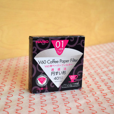 Hario V60-01 Paper Filters