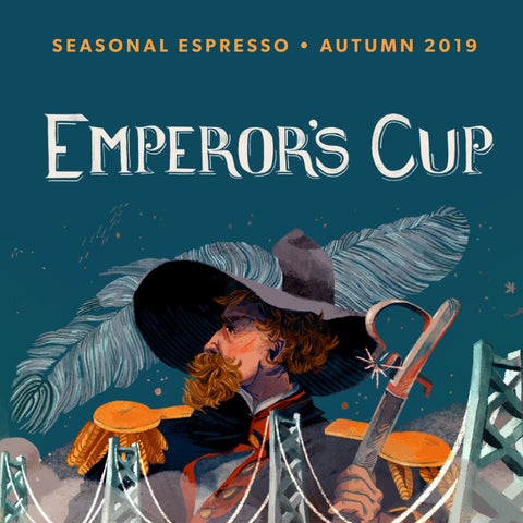 """Emperor's Cup"" Autumn Seasonal Espresso"