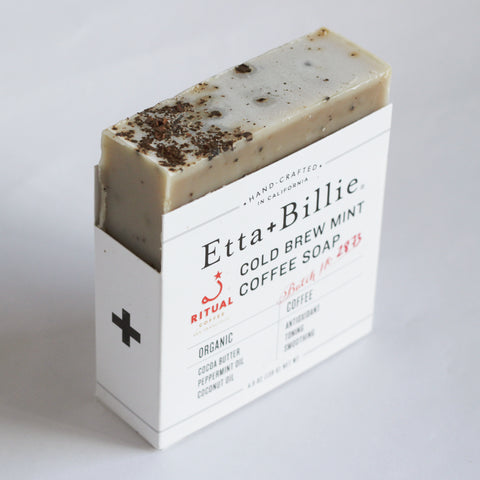 Etta + Billie Mint Coffee Soap