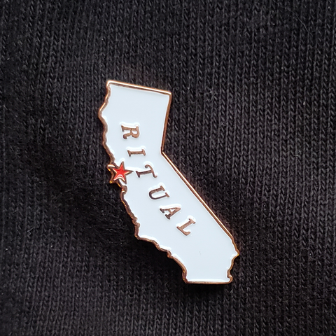 California Map Pin