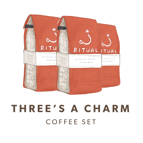 Three's a Charm Coffee Gift Set