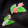 Flowers to Cherries Enamel Pin Set