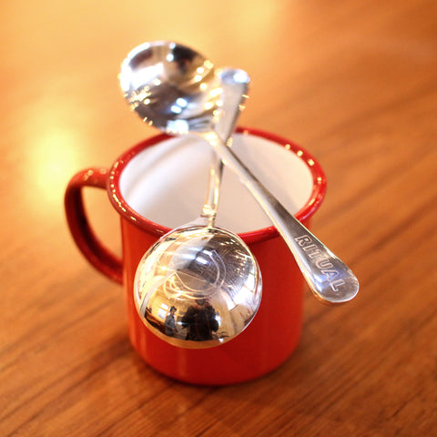 Silver-Plated Cupping Spoon