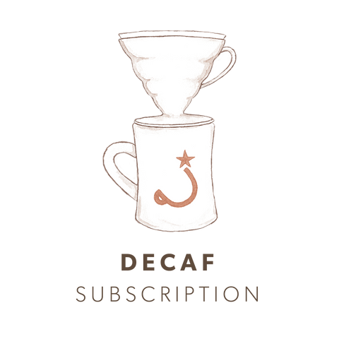 Coffee Subscription—Decaf