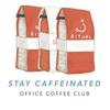 """Stay Caffeinated"" Discount Office Subscription"
