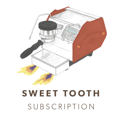 Sweet Tooth Espresso Subscription