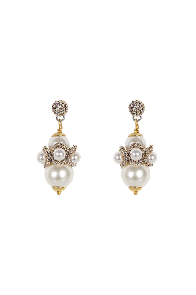 pearl drop earrings uk