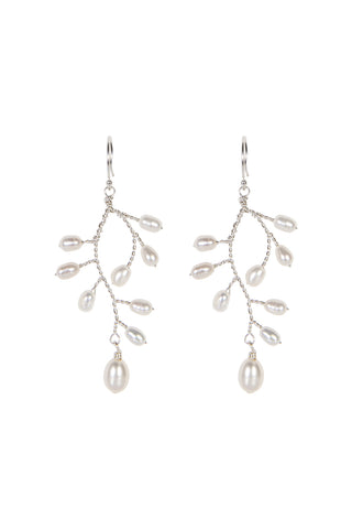 Pearl Drop Earrings L/ER002