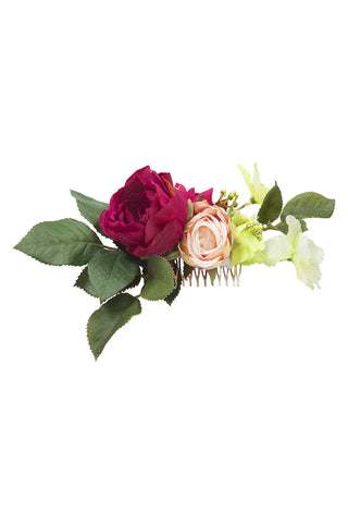 Dark Red Single Rose Comb