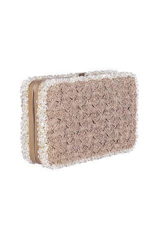 Half Moon Clutch (Rose Gold)
