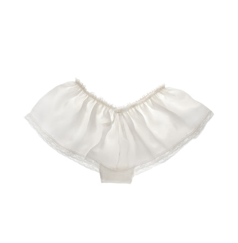Aurelie Silk Satin Shorties