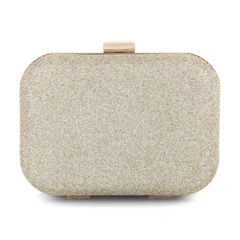 Carolina Gold Clutch Bag