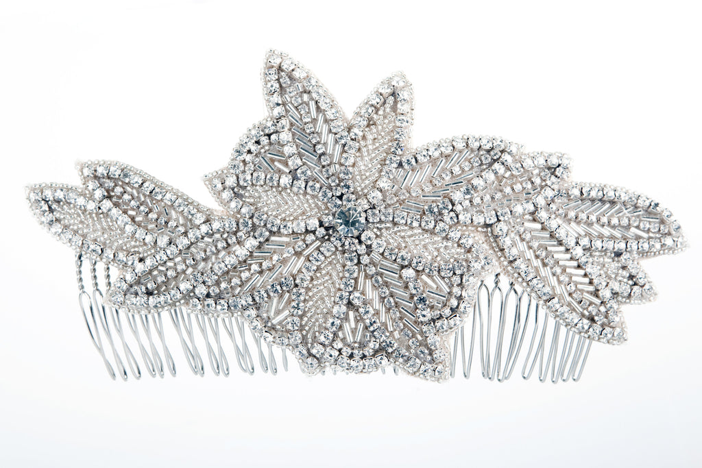 wedding hair combs uk