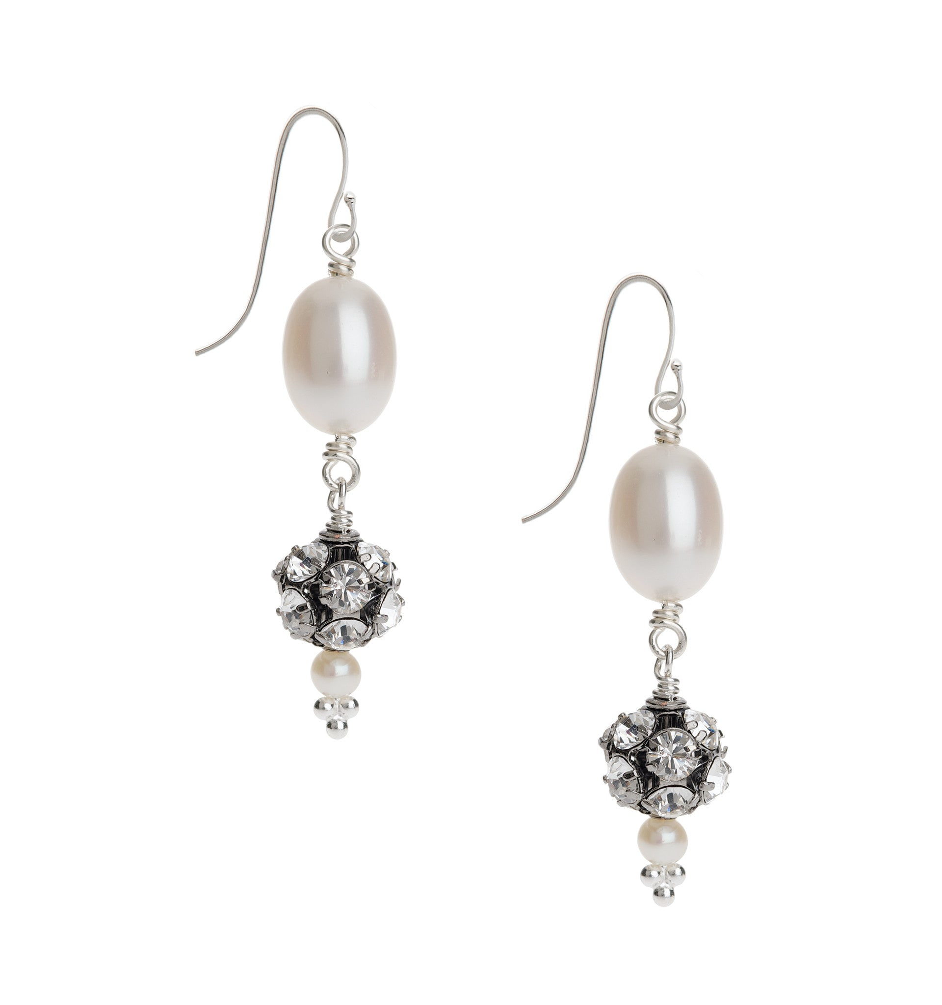 pearl wedding earrings uk