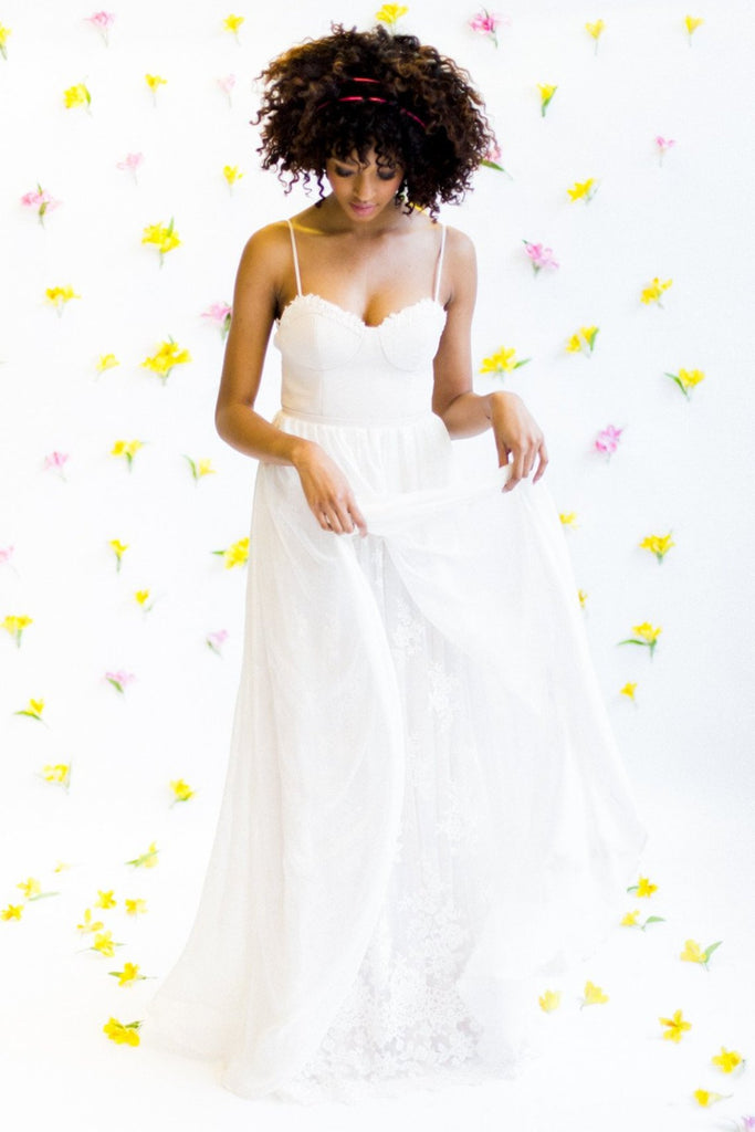 beach wedding dresses near me