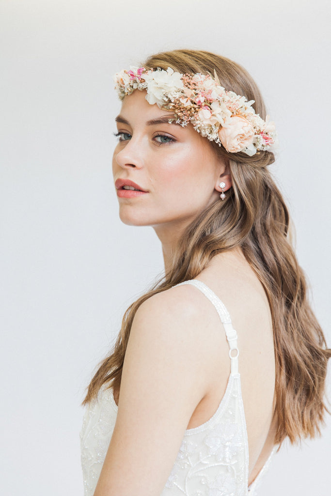 boho wedding hair crowns