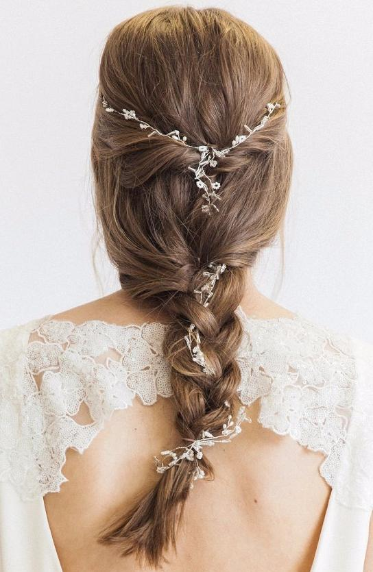 bridal hair vines accessories