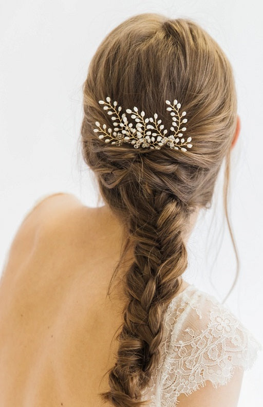 Fields Of Gold Pin Wedding Hair Accessories Uk Gold