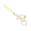 Golden Shadow Crystal Hair Pin