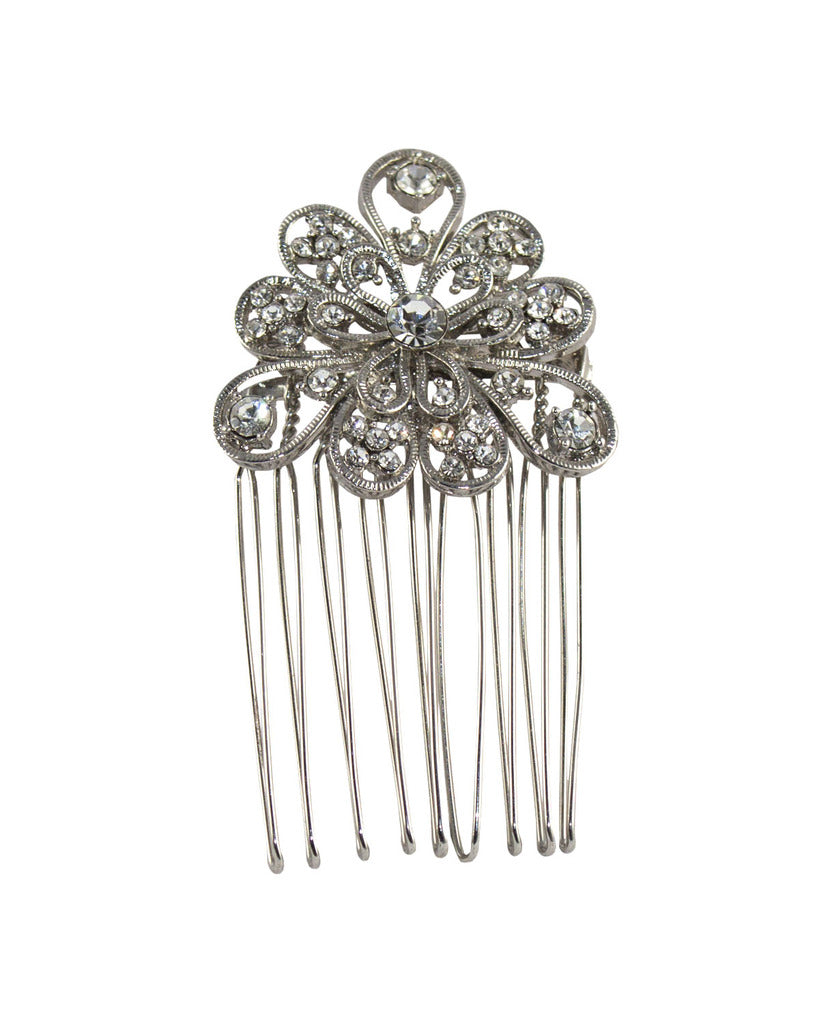 Luella's - Diamante comb brooch