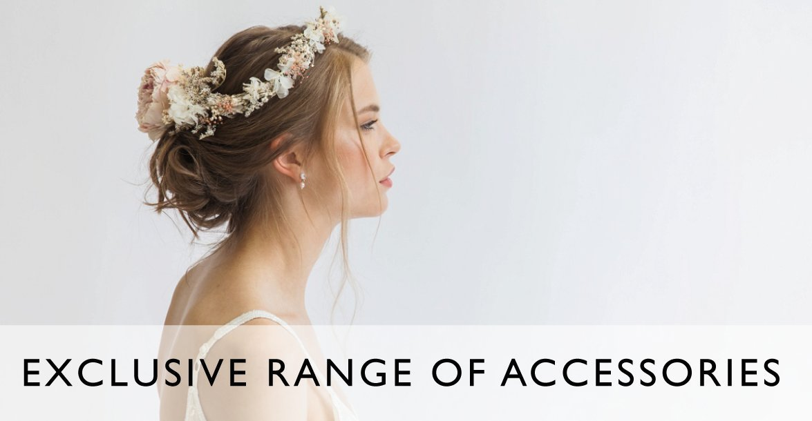 Hand picked bridal accessories